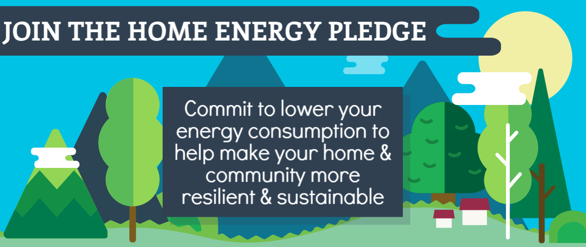 Home Energy Pledge header