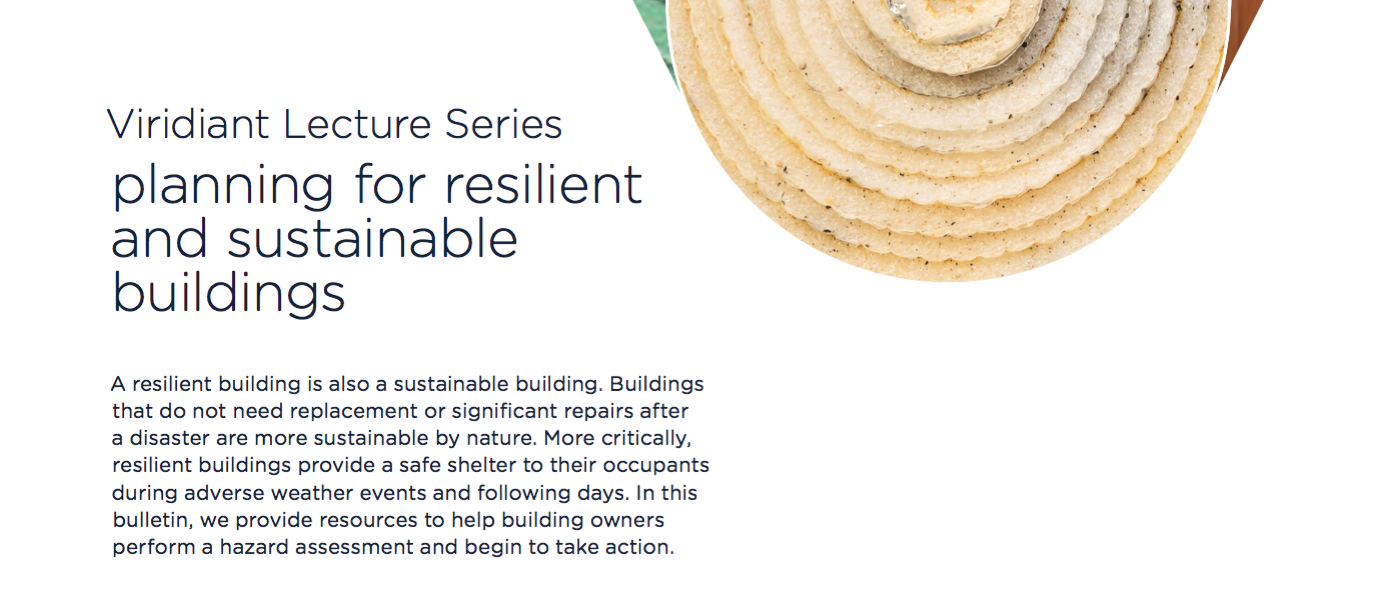 Free Bulletin: Planning for Resilient and Sustainable Buildings