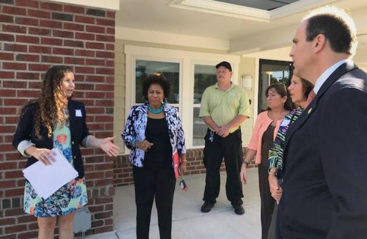 Energy Efficiency Day Site Visits with Virginia Legislators