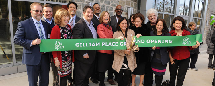 Arlington Partnership for Affordable Housing Grand Opening of Gilliam Place