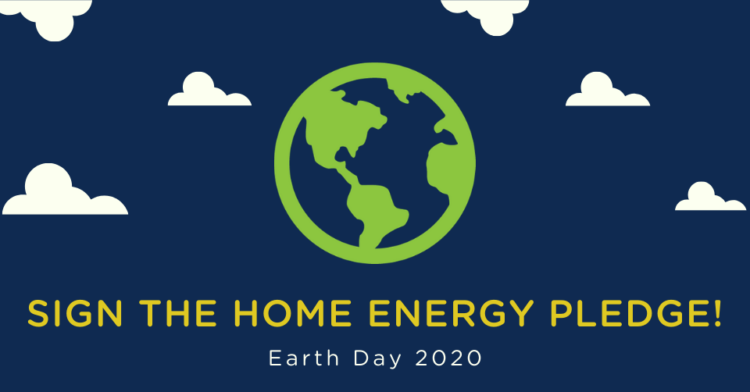 Commit to making energy efficiency changes at home this Earth Day