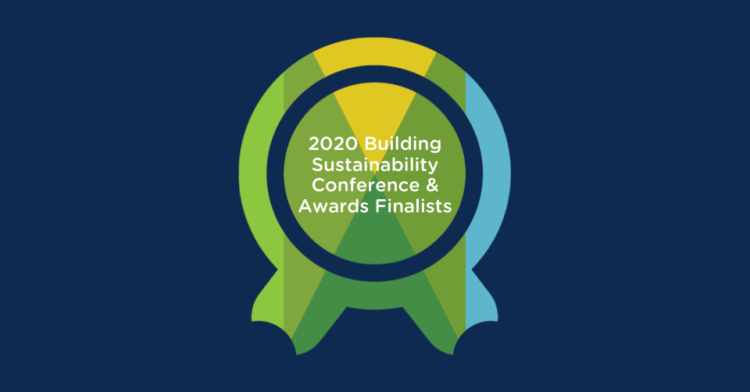 Award Finalists Honored at the 2020 Building Sustainability Conference & Awards